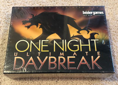 ONE NIGHT ULTIMATE WEREWOLF DAYBREAK by Bezier Games Brand New Factory Sold