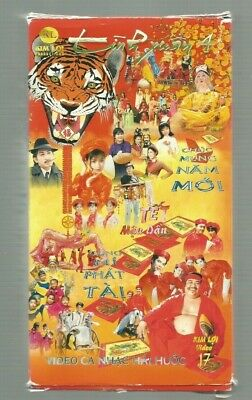 LOT OF FIVE (5) Genuine Vietnamese Musical Ca Nhac Xuan VHS Tapes