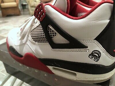 a67d25f7aaa312 Jordan IV 4 Mars Blackmon 2006 Nike Air White Varsity Red sz 11 spike lee  100