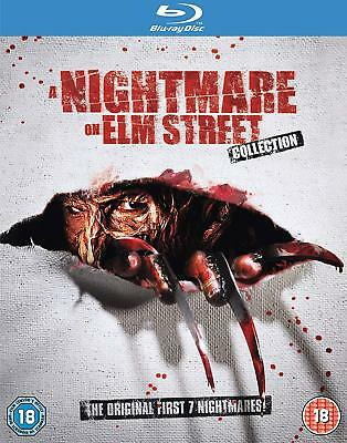 A Nightmare On Elm Street Collection Blu Ray Boxset 7 Films