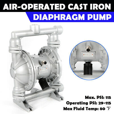 Air-Operated Double Diaphragm Pump - 24 GPM, 1in. Inlet & Outlet 115 PSI