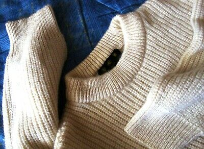 SWEATER vintage 80's BARBOUR  tg.46 ampia circa XL-2XL made in England  RARE