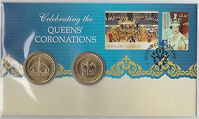 2013 Celebrating the Queen's Coronations FDC/PNC