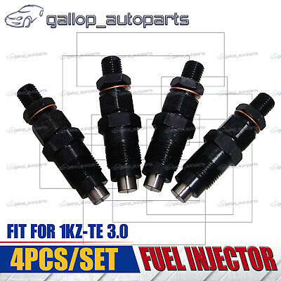 NEW DIESEL FUEL INJECTOR SET For TOYOTA HILUX SURF PRADO 1KZ-TE 3 0