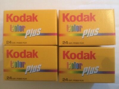 4 Rolls Kodak Color Plus - 96 Exposures