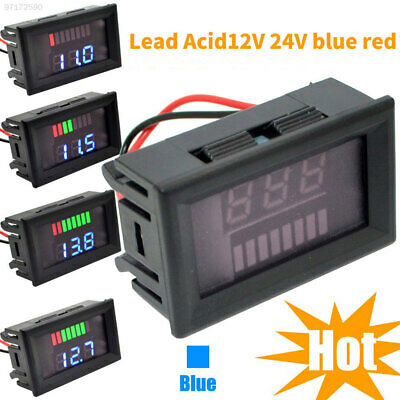 D531 Lead-Acid Battery Voltmeter Digital Car Accurate Charge Level Indicator