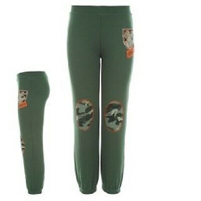 Scooby Doo:khaki Green Joggers,4/5Yr,New With Tags