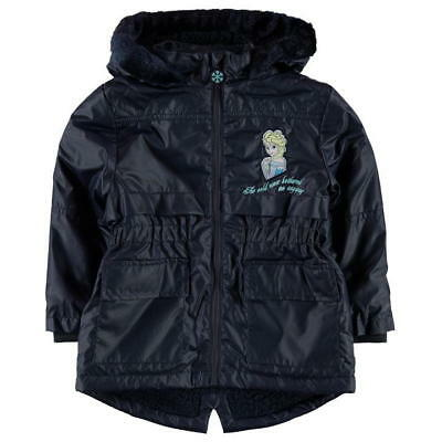 Disney Frozen:waxed Winter Coat,4/5,5/6,7/8,9/10Yr,New With Tags