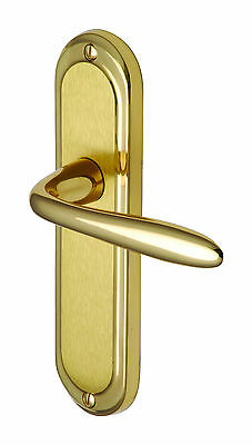 Henley Door Handle (Latch/Lock/Bathroom) - various finishes available