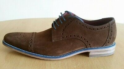d33bbee1 LOAKE BROWN SUEDE Brogues £135 Mens Size 8.5/8 42.5 202DS Shoes ...