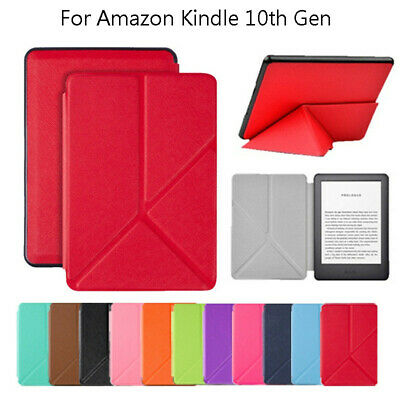 For Amazon Kindle 10th Gen 2019 6Inch Ultra Slim Leather Case Protective Cover
