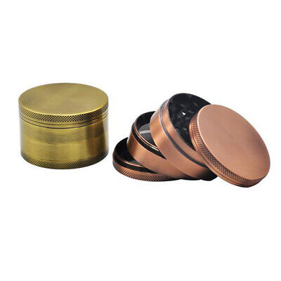 Classic Herbal Herb Tobacco 4 Layers Grinder Hand Smoking 60mm crusher Ancien