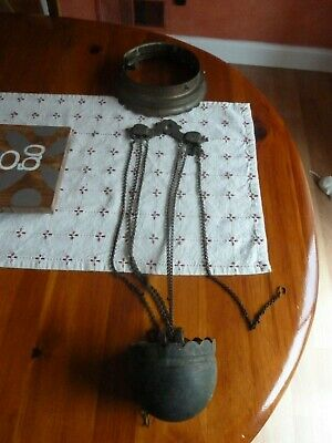 Antique Bradley Hubbard Counterweight Lamp Parts or Repair 1881