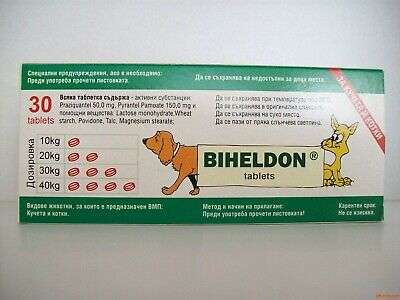 Dog and Cat Wormer Broad Spectrum Dewormer, Woming Tabs/30 to 600 tabs/