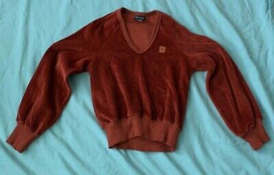 RARE Vtg GIVENCHY Children's Sweater for Little Tantrum's Sz S (7-8) Made in USA
