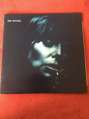 "Joni Mitchell ‎ Blue 1975 [K44128] 12"" Vinyl Textured Gatefold Rock Mint Copy"