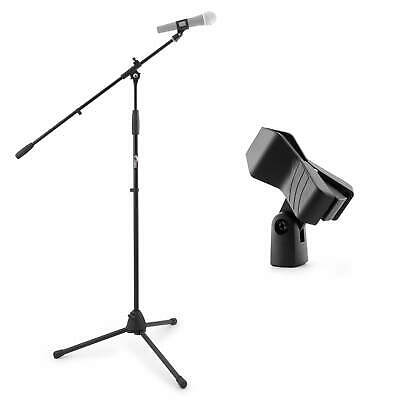 Tiger Boom Microphone Stand with Alternative Mic Clips