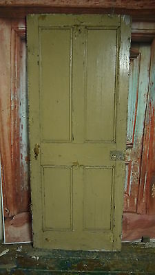 V30/04 (30 1/4 x 75 1/2) Antique victorian old solid pine wooden door Nr York
