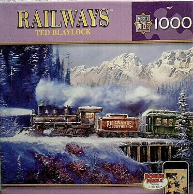 The Old9 Blaylock Ted Railways Holdup Of 1000pc Puzzle zSMpqUVG