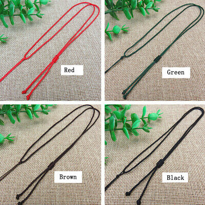 30PC Braided Rope Necklace Chain Handmade String Rope Beads  Gift DIY Line Woven