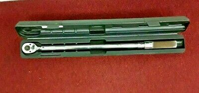 """WRIGHT TOOL #4478 Adj MICROMETER TORQUE WRENCH 50-250ft/lbs 1/2"""" DRIVE"""