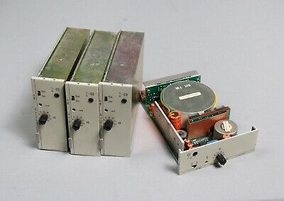 4 x WSW Siemens Sitral PM-UT  Mono Mic / Line Preamp
