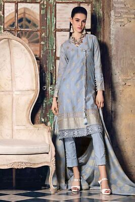 97bc688ae3 GUL AHMED*2019 FESTIVE/EID TAANI JACQUARD SUIT with EMBROIDERED LACE ...