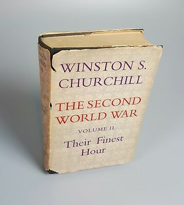 Winston S Churchill The second world war Volume II / Vol 2 Their Finest Hour