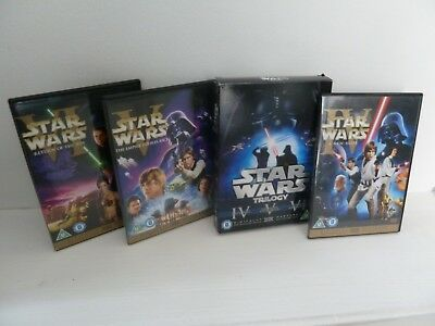 Star Wars Trilogy : Hope/Empire/Jedi Dvd Set - Special Edition