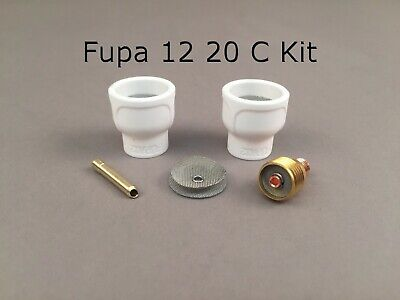 FUPA 12 Ceramic Cup Complete Kit for 9 & 20 Series TIG Torches
