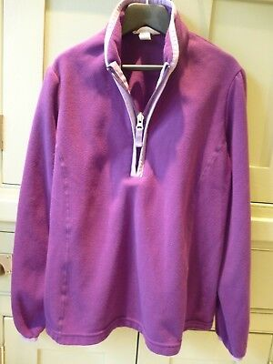Lands' End age 10 -11 fleece layer top, ski etc. in excellent condition