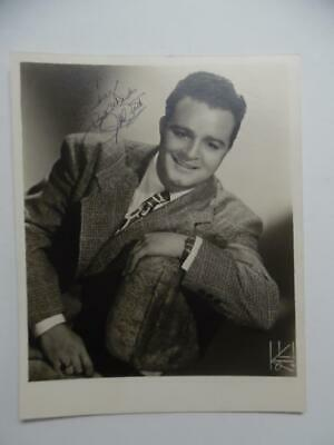 1946 PHIL BRITO Actor Singer Singed Inscribed Photo The Music Man More Vintage