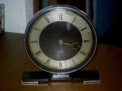 Vintage Smiths Art Deco Bakelite Mantel Clock Patent 517819 Electric Not Working