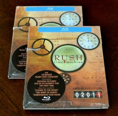 Rush: Time Machine - Live in Cleveland (Blu-ray Disc, 2011) SEALED cut