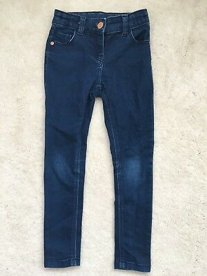 Girls Blue Denim Skinny Jeans Age 6 Years From TU