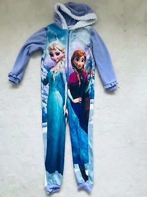 Girls Frozen All-In-One Age 7-8 years from George