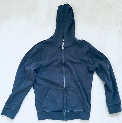 Girls Grey Zipped Hoodie Age 10 Years From TU