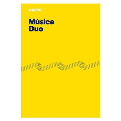 Cuaderno Música ADDITIO M08 Duo, 8 Pentagramas Din-A4