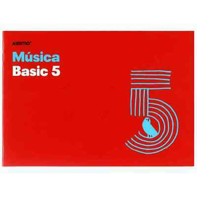 Cuaderno Música ADDITIO M05 Basic 5, 5 Pentagramas 170 x 240 mm.