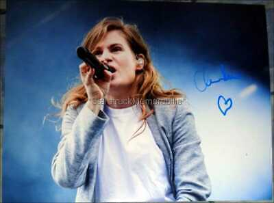 Christine And The Queens Autograph *Chaleur Humaine, Chris* Signed 16X12 Photo