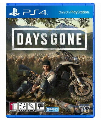 DAYS GONE PS4 GAME Play Station 4 Korean English