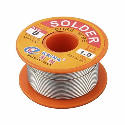 1Mm Rosin Core Solder 63/37 Tin Lead Line Flux Welding Iron Wire Reel_~
