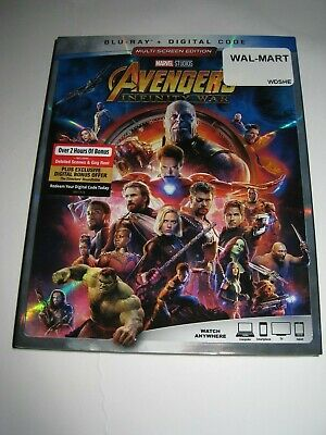 Avengers: Infinity War (Blu Ray slip cover only) No Disc No Blu Ray