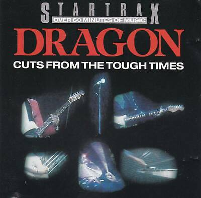 Dragon - Cuts From The Tough Times CD (Startrax Compilation, Marc Hunter)