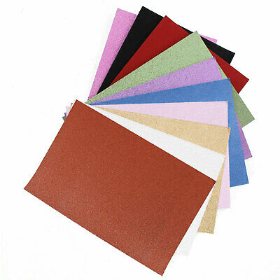 A4 Glitter Card 10 Sheets Premium Quality 250gsm 11 Colours Arts Crafts Paper