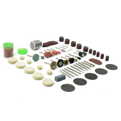113 PIECE Accessories Dremel Set Variable Speed Rotary Cutter Tool Kit Grinder