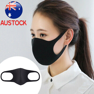 3X Washable Earloop Mask Cycling Anti Dust Mouth Face Mask Surgical Respirator