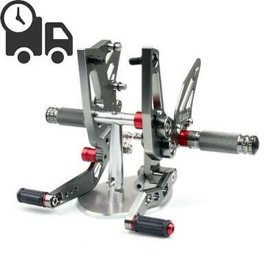 CNC Adjustable Rearsets Footpeg Fit Triumph Speed Triple 1050 2011-2014 GY UK