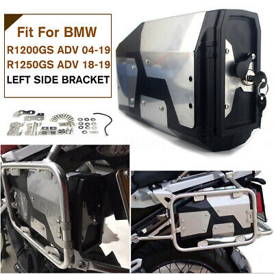 For BMW R1200GS R1250GS LC Adventure Left Bracket 04-19 4.2L Stainless Tool Box