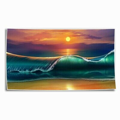 Waves Sea Ocean HD Canvas Print Painting Home Decor room Wall Art Picture 102928